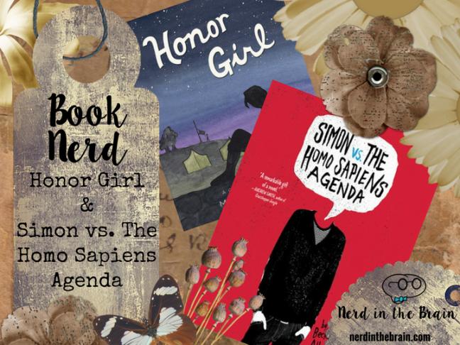 Book Nerd: Honor Girl & Simon vs. The Homo Sapiens Agenda   Nerd in the Brain
